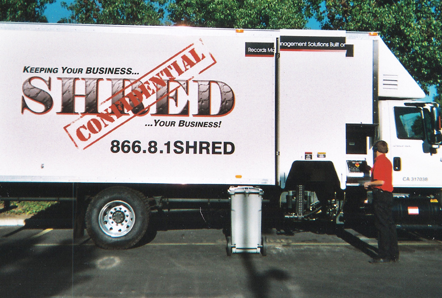 On-Site Document Shredding Service