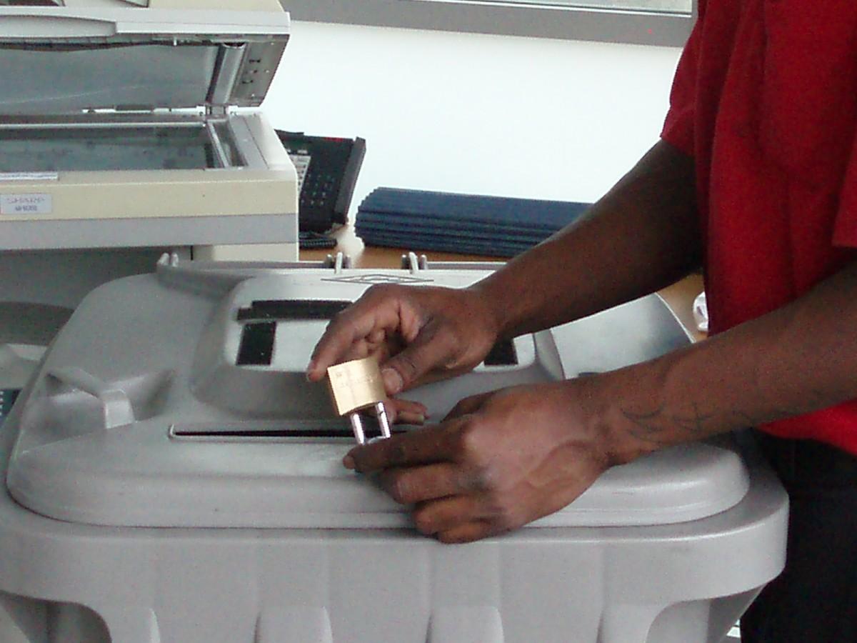 secure paper shredding