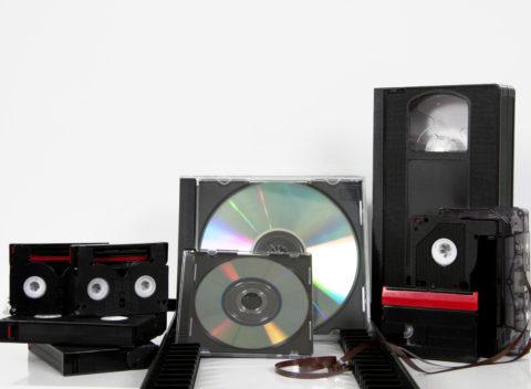 media storage video cassette tapes tape cd convert copy